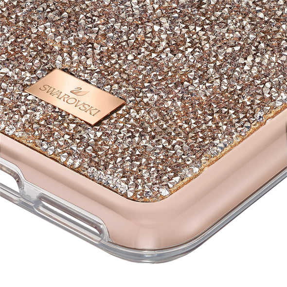 Glam Rock Smartphone Case with Bumper, iPhone® 11 Pro Max, Rose gold tone
