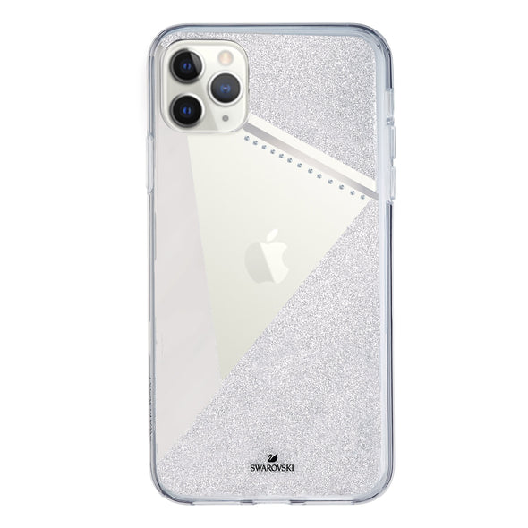 Subtle Smartphone Case with Bumper, iPhone® 11 Pro Max, Silver Tone