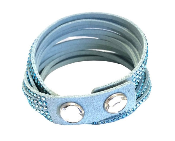 Swarovski Power Collection Bracelet, Light Blue