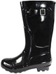 New Women Rain Boots Rubber Solid Color Mid Height Wellie Mid Calf Snow Rainboot, 38734