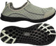 Norty - Slip-On Water Shoes For Men - Perfect For Water Sports and Water Aerobics - Thick Protective Soles - Lightweight, Comfortable and Fashionable