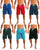 Norty Mens Big Extended Size Swim Trunks - Mens Plus King Size Swimsuit thru 5X, 39961 - Order 1 Size Larger
