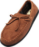 Norty Mens Moccasin Slip On Loafer Slipper Indoor/Outdoor Sole - 3 Colors, 40017