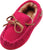 NORTY Little and Big Kids Boys Girls Unisex Suede Leather Moccasin Slip On Slippers, 40108
