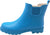 New Norty Women Low Ankle High Rain Boots Rubber Snow Rainboot Shoe Bootie - Runs 1/2 Size Large, 40677