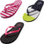 Norty Womens Summer Comfort Casual Thong Flat Flip Flops Sandals Slipper Shoes, 40324