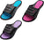 Norty Womens Summer Comfort Casual Slide Flat Strap Shower Sandals Slip On Shoes, 40330