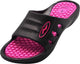 Norty Girl's Summer Comfort Casual Slide Flat Strap Shower Sandals Slip On Shoes, 40333