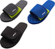 Norty Boys Mens Summer Comfort Casual Slide Strap Shower Sandals Slip On Shoes, 40339