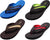 Norty Men's Summer Comfort Casual Thong Flat Flip Flops Sandals Slipper Shoes, 40347