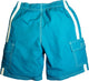 Norty Toddler Boys Cargo Watershort Swim Suit Boardshort Swim Trunks, 40376