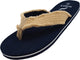NORTY Young Men's Lightweight Thong Flip Flop Sandal for Everyday Beach and Pool, 40574