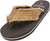 NORTY Boy's Lightweight Canvas Strap Thong Flip Flop Everyday Beach Pool Sandal, 40577