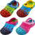 Norty Boys & Girls Tie Dye Clog Sandal with Backstrap - 4 Color Combinations, 40579