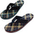 NORTY Men's Lightweight Thong Flip Flop Sandal for Everyday, Beach and Pool, 40587