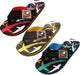 Norty Boy's Shark Flip Flop Thong Sandal Perfect for the Beach, Pool or Everyday, 40646