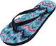 Norty Women's Graphic Print Flip Flop Thong Sandal for Beach, Pool or Everyday, 40656