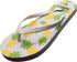 Norty Girl's Graphic Print Flip Flop Thong Sandal for Beach, Pool or Everyday, 40672