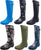 Norty Women's Hurricane Wellie - Glossy Matte Waterproof Hi-Calf Rainboots, 40708