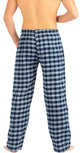 NORTY Mens Pajama Sleep Lounge Pant - 100% Brushed Cotton Flannel - 8 Prints, 40769