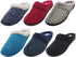 Norty Women's Slip-On Memory Foam Clog Slippers Shoe - Faux Suede or Fleece, 40802