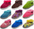 Norty Toddler Girl's Kids Fleece Memory Foam Slip On Indoor Slippers Shoe, 40856