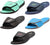 Norty Mens Summer Comfort Casual Slide Flat Strap Shower Sandals Slip On Shoes, 40998