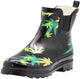 Norty New Women Low Ankle High Rain Boots Rubber Snow Rainboot Shoe Bootie, 41297