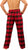 Norty Big Mens Cotton Yarn Flannel Pajama Lounge Sleep Pant - 3XL to 5XL, 41337