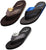 Norty Men's Soft EVA Flip Flop Thong Sandal Shoe for Casual Beach Pool Everyday, 41499