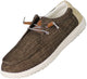 NORTY - Mens Slip On Lace Up Low Top Boat Loafer Comfortable & Lightweight Shoe, 41507
