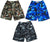 Norty Mens Camouflage Cargo Watershort Swim Suit Boardshort Swim Trunks, 41576