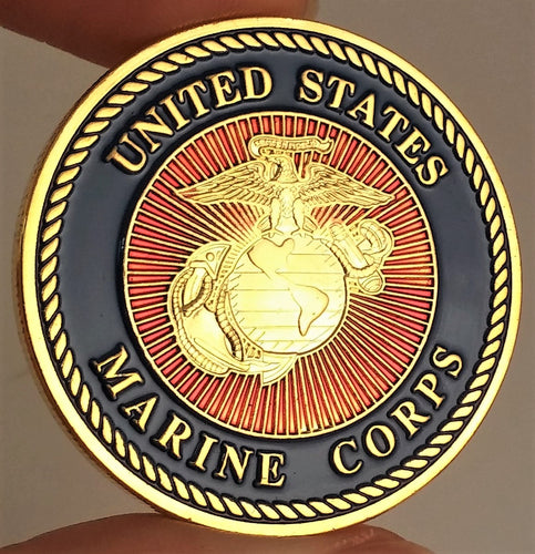 United States Marine Corps Force Recon Challenge Coin
