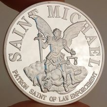 Load image into Gallery viewer, Saint Michael Second Amendment Challenge Coin