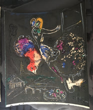 Load image into Gallery viewer, Chagall La Nuit Lithograph