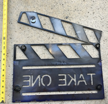 Load image into Gallery viewer, Home Theater Steel Decor Movie Clapper / Marker