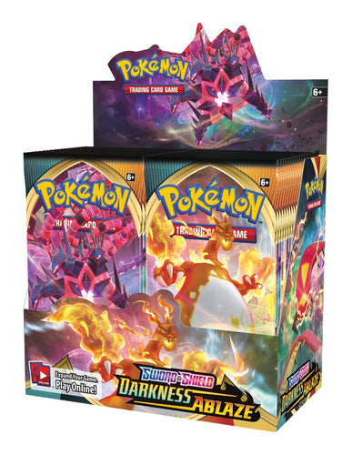 Pokémon Sword and Shield: Darkness Ablaze Booster Box (36 Booster Packs)