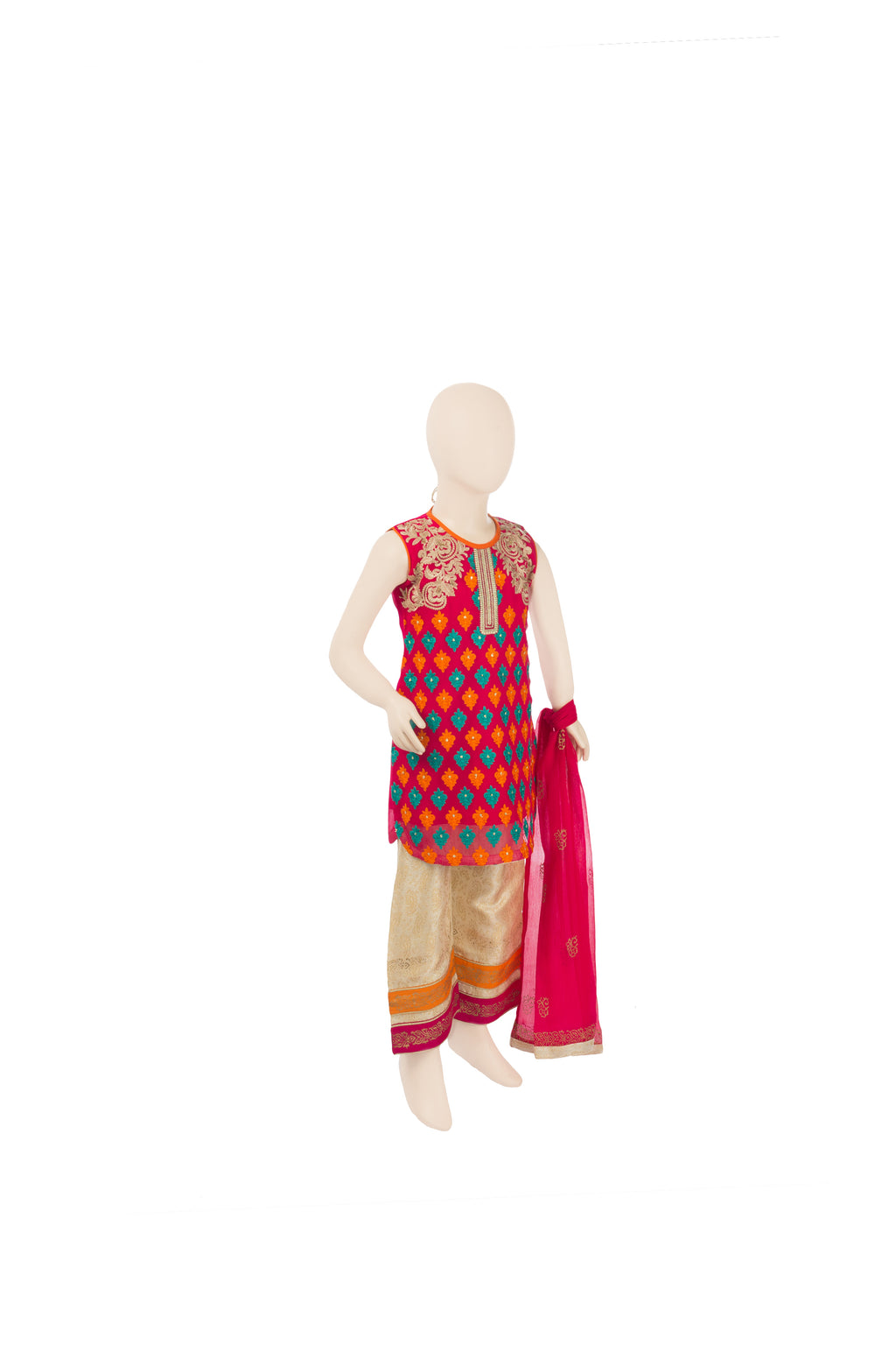 KDD-00266 Girl's 3PC - Komal's