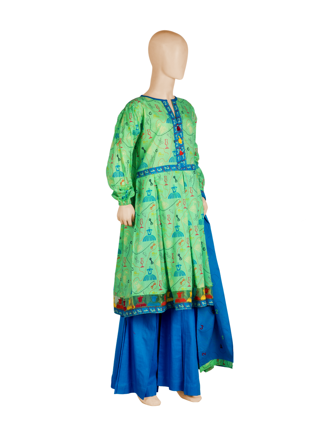 GAD-00936 Embroidered 3PC Suit - Komal's