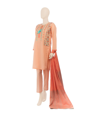 LAD-00569 Embroidered 3PC Suit - Komal's