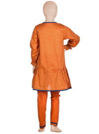 KAD-00859 Block Printed Girl's 3PC - Komal's