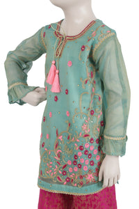 Girls Formal Embroidered 3PC Suit