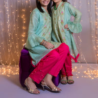 OFW-122 Girls Formal 2PC - Komal's