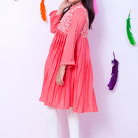 OFW-123 Girls Formal Kurti - Komal's