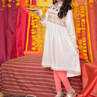 OFW-91 Girls Formal Kurti - Komal's