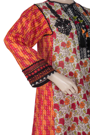 LAD-01072 Embroidered 3PC Suit - Komal's