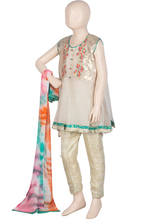 KDD-00988 Embroidered 3PC Suit