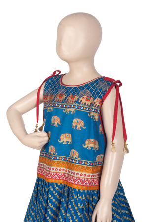 KBD-01077 Girl's Formal 3PC - Komal's