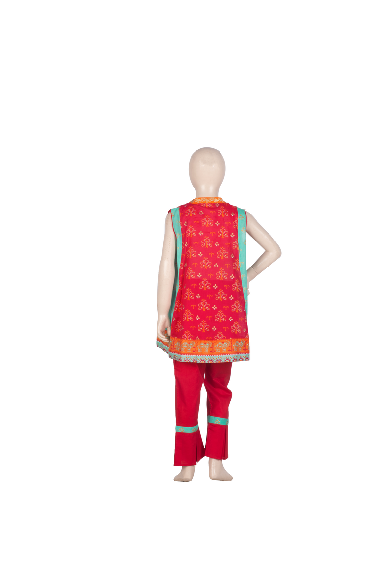 KBD-01078 Girl's Formal 3PC - Komal's