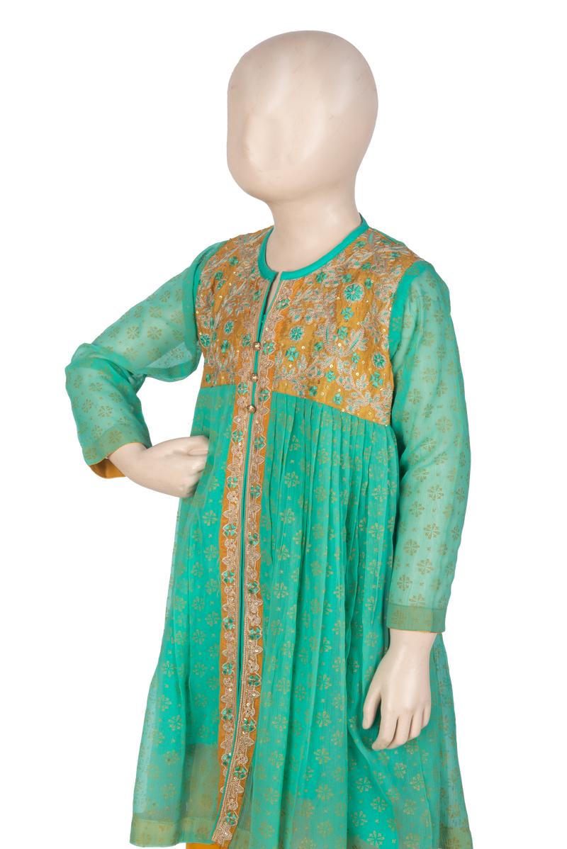 KDD-00531 Girl's Formal 3PC - Komal's